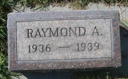 KRUEGER, RAYMOND A. - Sheridan County, Nebraska   RAYMOND A. KRUEGER - Nebraska Gravestone Photos