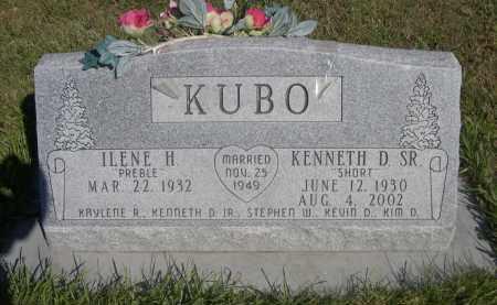 PREBLE KUBO, ILENE H. - Sheridan County, Nebraska | ILENE H. PREBLE KUBO - Nebraska Gravestone Photos