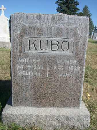 KUBO, JOHN - Sheridan County, Nebraska | JOHN KUBO - Nebraska Gravestone Photos