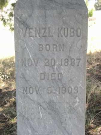 KUBO, VENZL - Sheridan County, Nebraska | VENZL KUBO - Nebraska Gravestone Photos