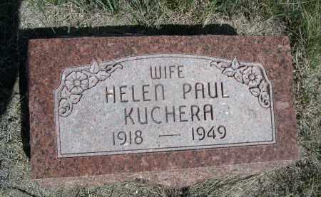 KUCHERA, HELEN - Sheridan County, Nebraska | HELEN KUCHERA - Nebraska Gravestone Photos