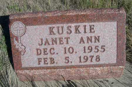 KUSKIE, JANET ANN - Sheridan County, Nebraska   JANET ANN KUSKIE - Nebraska Gravestone Photos