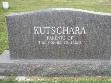 KUTSCHARA, DOLOROS - Sheridan County, Nebraska   DOLOROS KUTSCHARA - Nebraska Gravestone Photos