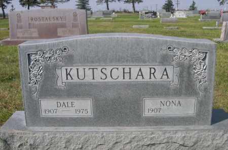 KUTSCHARA, DALE - Sheridan County, Nebraska | DALE KUTSCHARA - Nebraska Gravestone Photos