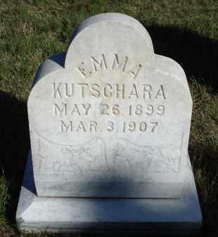 KUTSCHARA, EMMA - Sheridan County, Nebraska | EMMA KUTSCHARA - Nebraska Gravestone Photos