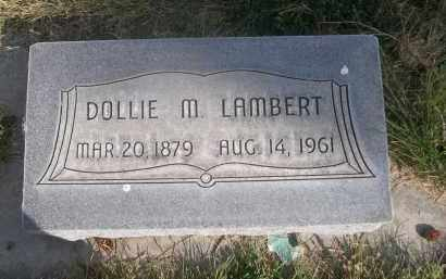 LAMBERT, DOLLIE M. - Sheridan County, Nebraska | DOLLIE M. LAMBERT - Nebraska Gravestone Photos
