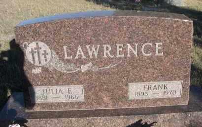 LAWRENCE, FRANK - Sheridan County, Nebraska | FRANK LAWRENCE - Nebraska Gravestone Photos