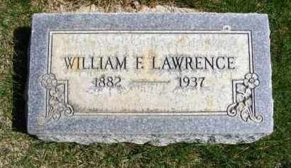 LAWRENCE, WILLIAM F. - Sheridan County, Nebraska | WILLIAM F. LAWRENCE - Nebraska Gravestone Photos