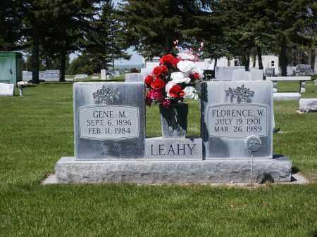 LEAHY, EUGENE MICHAEL - Sheridan County, Nebraska | EUGENE MICHAEL LEAHY - Nebraska Gravestone Photos