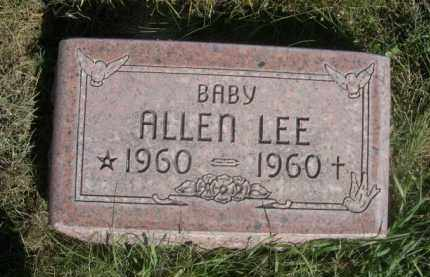 LEE, ALLEN - Sheridan County, Nebraska   ALLEN LEE - Nebraska Gravestone Photos