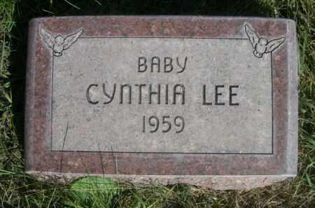 LEE, CYNTHIA - Sheridan County, Nebraska | CYNTHIA LEE - Nebraska Gravestone Photos