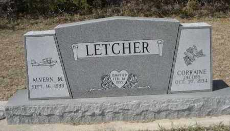 JACOBS LETCHER, CORRAINE - Sheridan County, Nebraska | CORRAINE JACOBS LETCHER - Nebraska Gravestone Photos