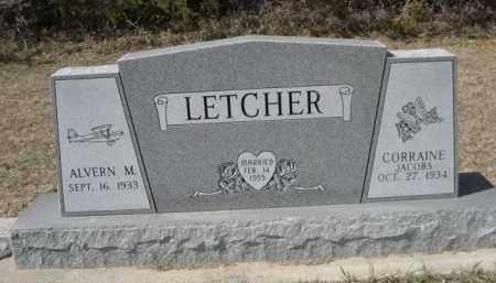 LETCHER, ALVERN M. - Sheridan County, Nebraska | ALVERN M. LETCHER - Nebraska Gravestone Photos