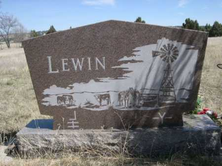 LEWIN, FAMILY - Sheridan County, Nebraska | FAMILY LEWIN - Nebraska Gravestone Photos