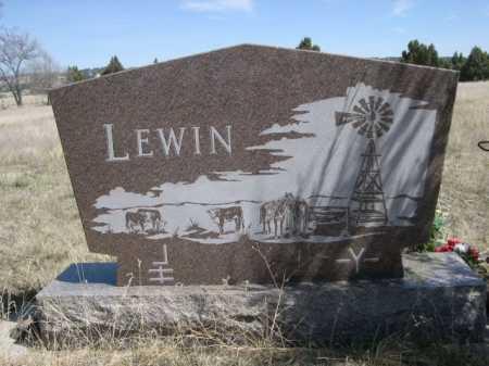 LEWIN, FAMILY - Sheridan County, Nebraska | FAMILY LEWIN - Nebraska Gravestone Photos