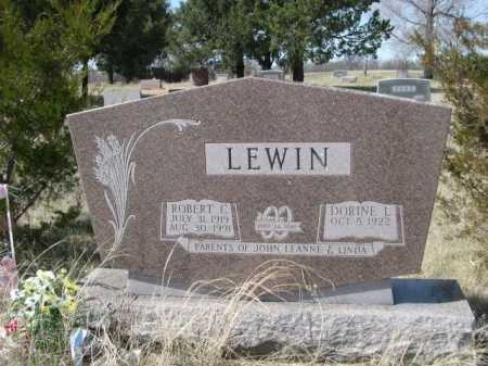 LEWIN, ROBERT C. - Sheridan County, Nebraska | ROBERT C. LEWIN - Nebraska Gravestone Photos