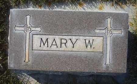 LINDEN, MARY W. - Sheridan County, Nebraska   MARY W. LINDEN - Nebraska Gravestone Photos