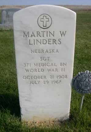 LINDERS, MARTIN W. - Sheridan County, Nebraska | MARTIN W. LINDERS - Nebraska Gravestone Photos