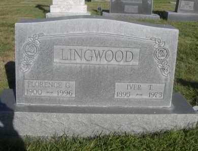 LINGWOOD, FLORENCE G. - Sheridan County, Nebraska   FLORENCE G. LINGWOOD - Nebraska Gravestone Photos