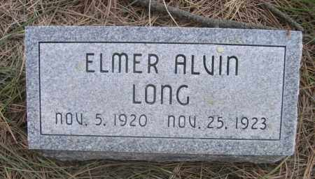 LONG, ELMER ALVIN - Sheridan County, Nebraska | ELMER ALVIN LONG - Nebraska Gravestone Photos