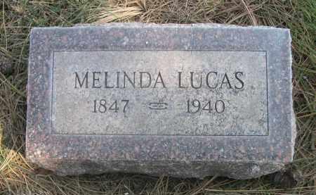 LUCAS, MELINDA - Sheridan County, Nebraska   MELINDA LUCAS - Nebraska Gravestone Photos