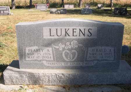 LUKENS, PEARLY A. - Sheridan County, Nebraska | PEARLY A. LUKENS - Nebraska Gravestone Photos
