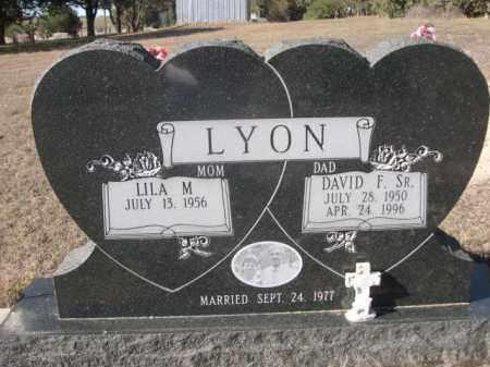 LYON, DAVID F. SR. - Sheridan County, Nebraska | DAVID F. SR. LYON - Nebraska Gravestone Photos