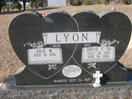LYON, DAVID F. SR. - Sheridan County, Nebraska | DAVID F. SR. LYON - Nebraska Gravestone Photos