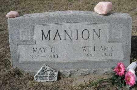 MANION, MAY C. - Sheridan County, Nebraska   MAY C. MANION - Nebraska Gravestone Photos