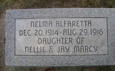 MARCH, NELMA ALFARETTA - Sheridan County, Nebraska | NELMA ALFARETTA MARCH - Nebraska Gravestone Photos