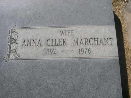 CILEK MARCHANT, ANNA - Sheridan County, Nebraska   ANNA CILEK MARCHANT - Nebraska Gravestone Photos