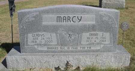 MARCY, GLADYS L. - Sheridan County, Nebraska   GLADYS L. MARCY - Nebraska Gravestone Photos