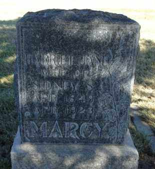 MARCY, HARRIET JANE - Sheridan County, Nebraska | HARRIET JANE MARCY - Nebraska Gravestone Photos