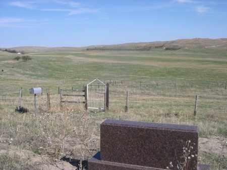 MARI SANDOZ GRAVE, VIEW FROM - Sheridan County, Nebraska   VIEW FROM MARI SANDOZ GRAVE - Nebraska Gravestone Photos