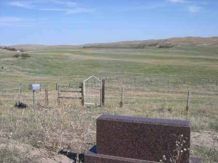 MARI SANDOZ GRAVE, VIEW FROM - Sheridan County, Nebraska | VIEW FROM MARI SANDOZ GRAVE - Nebraska Gravestone Photos
