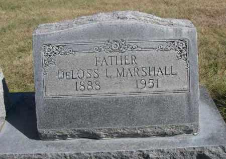 MARSHALL, DELOSS L. - Sheridan County, Nebraska | DELOSS L. MARSHALL - Nebraska Gravestone Photos
