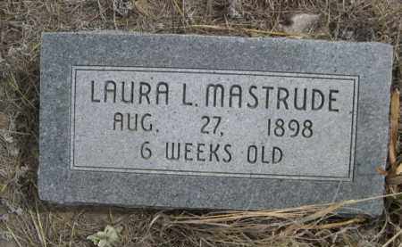 MASTRUDE, LAURA L. - Sheridan County, Nebraska   LAURA L. MASTRUDE - Nebraska Gravestone Photos