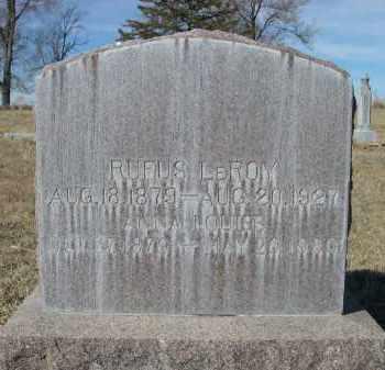 MCADAMS, ANNA LOUISE - Sheridan County, Nebraska | ANNA LOUISE MCADAMS - Nebraska Gravestone Photos