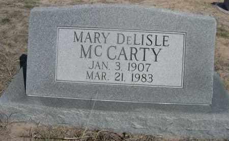 MCCARTY, MARY DELISLE - Sheridan County, Nebraska | MARY DELISLE MCCARTY - Nebraska Gravestone Photos
