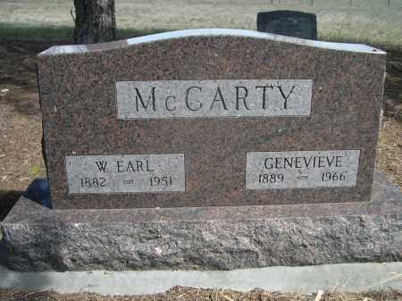 MCCARTY, GENEVIEVE - Sheridan County, Nebraska | GENEVIEVE MCCARTY - Nebraska Gravestone Photos