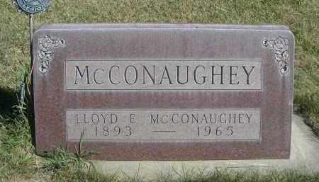 MCCONAUGHEY, LLOYD E. - Sheridan County, Nebraska   LLOYD E. MCCONAUGHEY - Nebraska Gravestone Photos
