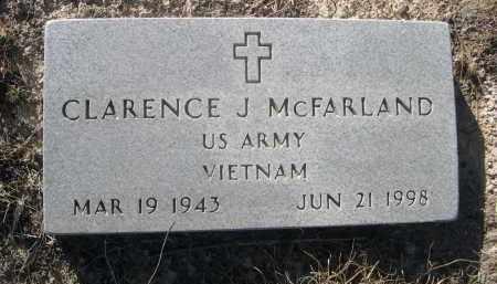 MCFARLAND, CLARENCE J. - Sheridan County, Nebraska | CLARENCE J. MCFARLAND - Nebraska Gravestone Photos