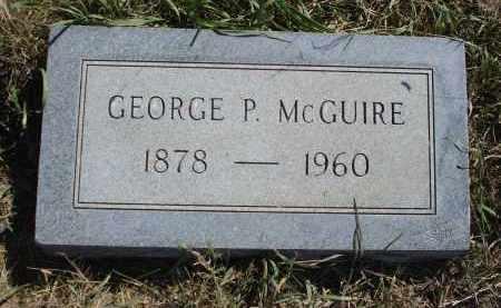 MCGUIRE, GEORGE P. - Sheridan County, Nebraska | GEORGE P. MCGUIRE - Nebraska Gravestone Photos
