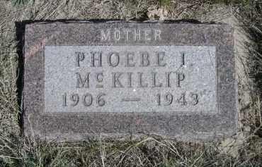 MCKILLIP, PHOEBE I. - Sheridan County, Nebraska | PHOEBE I. MCKILLIP - Nebraska Gravestone Photos