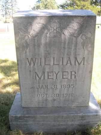 MEYER, WILLIAM - Sheridan County, Nebraska   WILLIAM MEYER - Nebraska Gravestone Photos