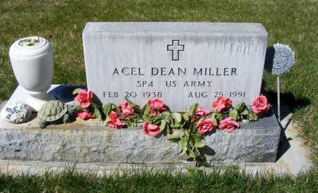 MILLER, ACEL DEAN - Sheridan County, Nebraska | ACEL DEAN MILLER - Nebraska Gravestone Photos