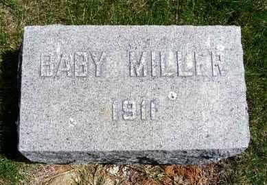 MILLER, BABY - Sheridan County, Nebraska | BABY MILLER - Nebraska Gravestone Photos