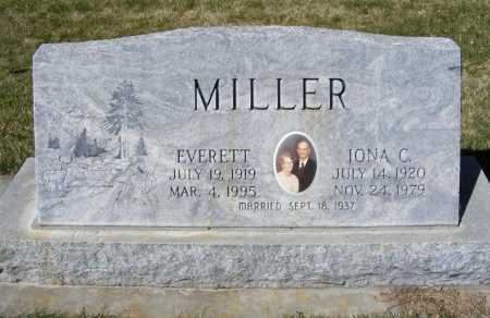 MILLER, EVERETT - Sheridan County, Nebraska | EVERETT MILLER - Nebraska Gravestone Photos