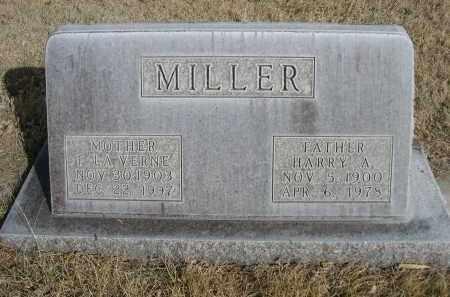 MILLER, HARRY A. - Sheridan County, Nebraska | HARRY A. MILLER - Nebraska Gravestone Photos
