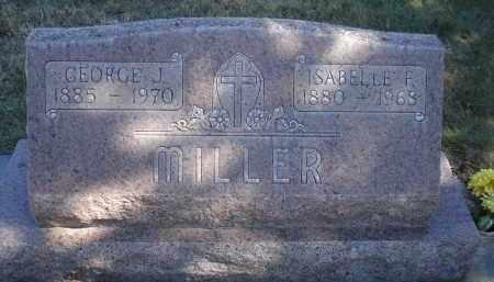 MILLER, GEORGE J. - Sheridan County, Nebraska   GEORGE J. MILLER - Nebraska Gravestone Photos